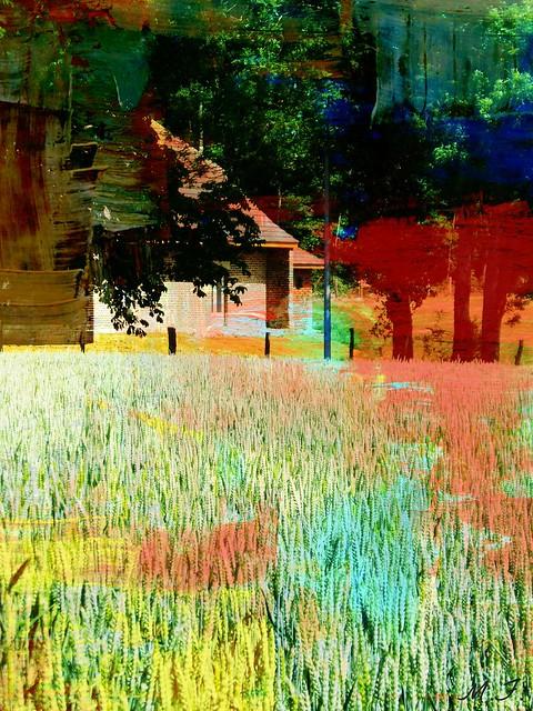 le blé en peinture