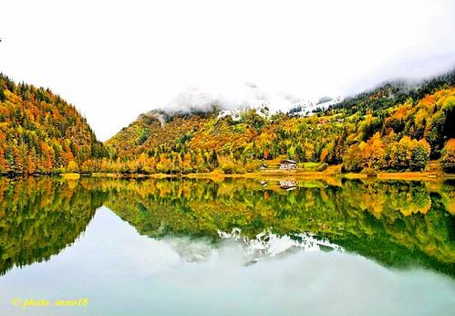lake france reflection nature water view lacs hautesavoie rhonealpes bellevaux lacdevallon