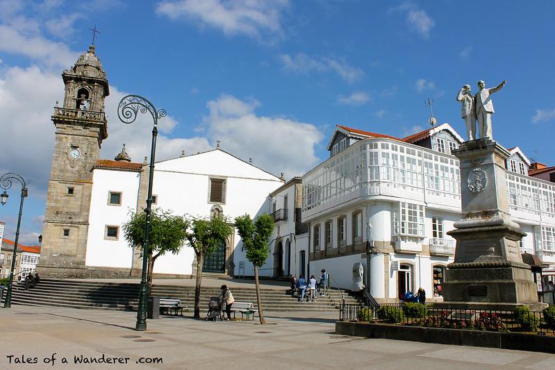BETANZOS - Praza Galicia