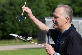 "Dave ""Bio"" Baranek at Become a Pilot Day 2014 Social"