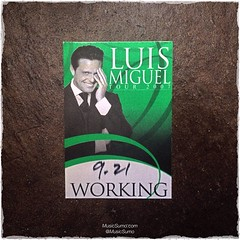 Luis Miguel - 09/21/07 #tbt #throwback #throwbackthursday #musicsumo