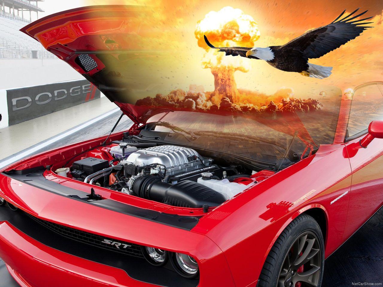 Dodge Challenger SRT Hellcat Engine