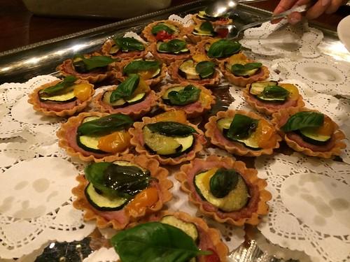野菜のタルト@エビベジの会