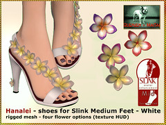 Bliensen - Hanalei - shoes for Slink Mid Feet - white