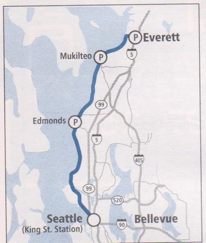 SoundTransit Sounder 2014 Everett Map