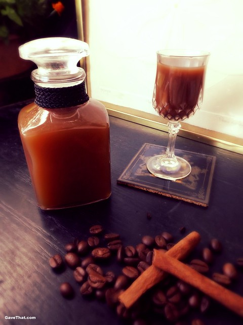 DIY Coffee Liqueur Recipe and Hostess Gift Idea