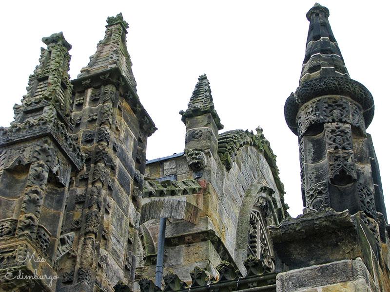 Visitar la capilla de Rosslyn y los bosques del Roslin Glen