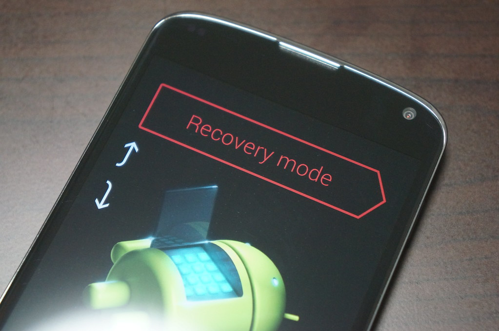 Nexus 4にAndroid L Developer Previewをインストールー「adb reboot bootloader」を実行
