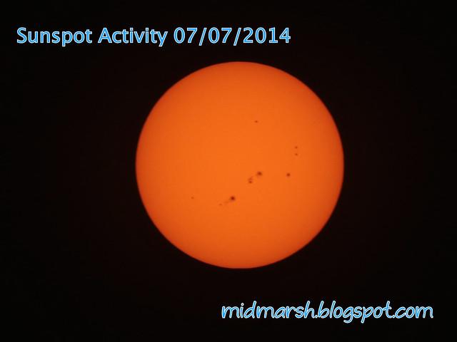 Sunspots 07072014