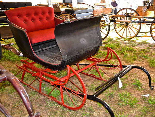 sleigh for sale - Amish Auction Lancaster County PA