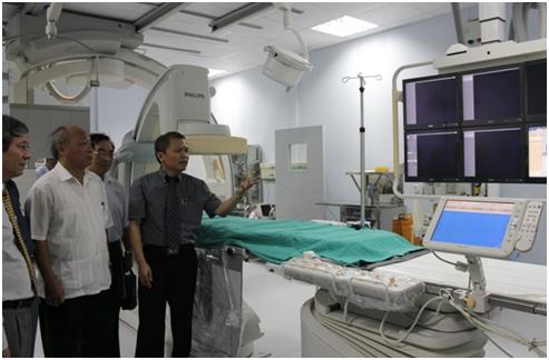 Tin vui cho người bệnh tim mạch: Bệnh viện E trang bị máy   can thiệp tim mạch thế hệ mới nhất