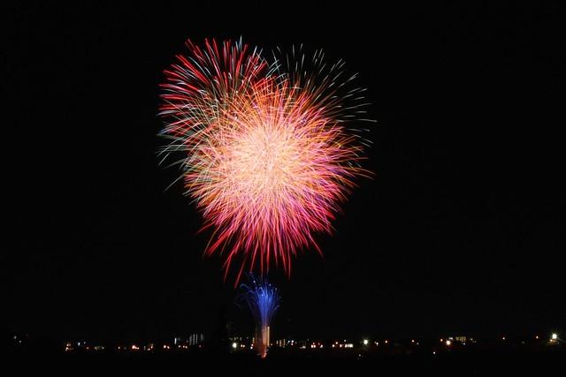 江戸川花火大会 (Edogawa river firework festival)