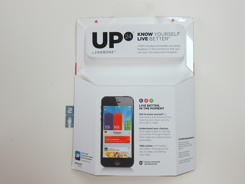 Jawbone UP 24 - Packaging Back