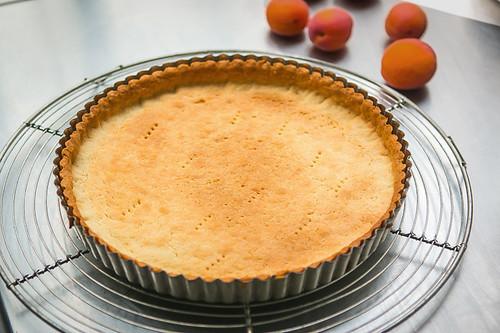 Apricot Cherry Marzipan tart recipe-6