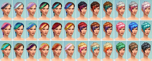 demo hair styles