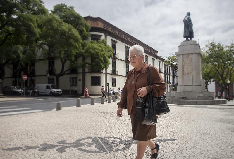 João Gonçalves Zarco monument - Funchal, Madeira