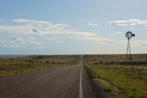 Cuervo Cutoff - Route 66, Cuervo, New Mexico