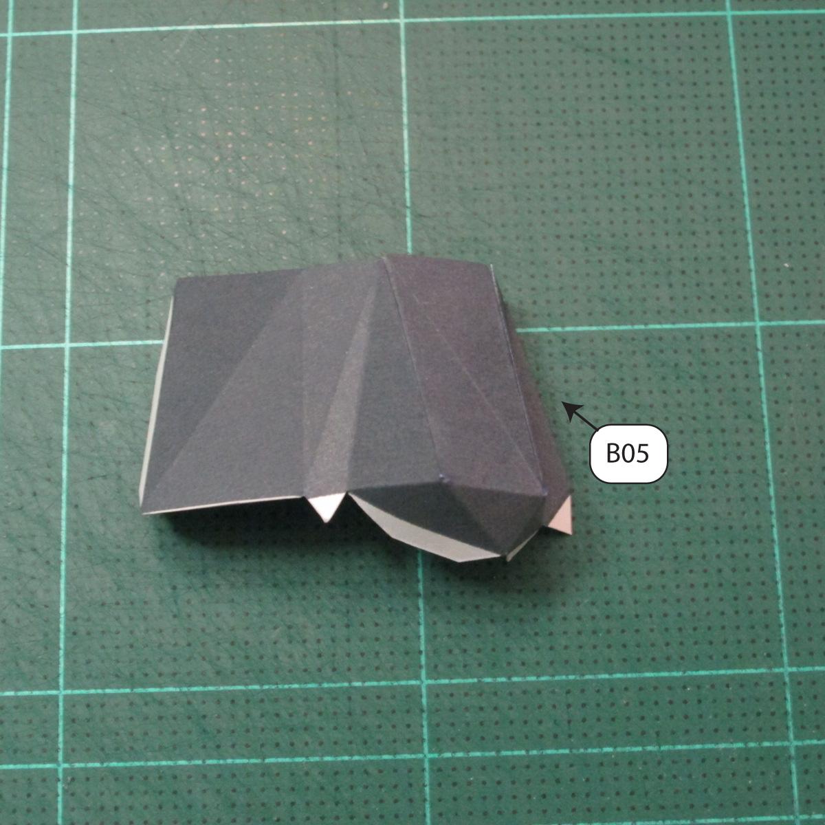 วิธีทำโมเดลกระดาษของเล่นคุกกี้รัน คุกกี้รสพ่อมด (Cookie Run Wizard Cookie Papercraft Model) 034