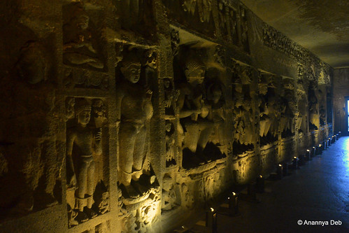 Cave 29, Ajanta Caves, July 2014