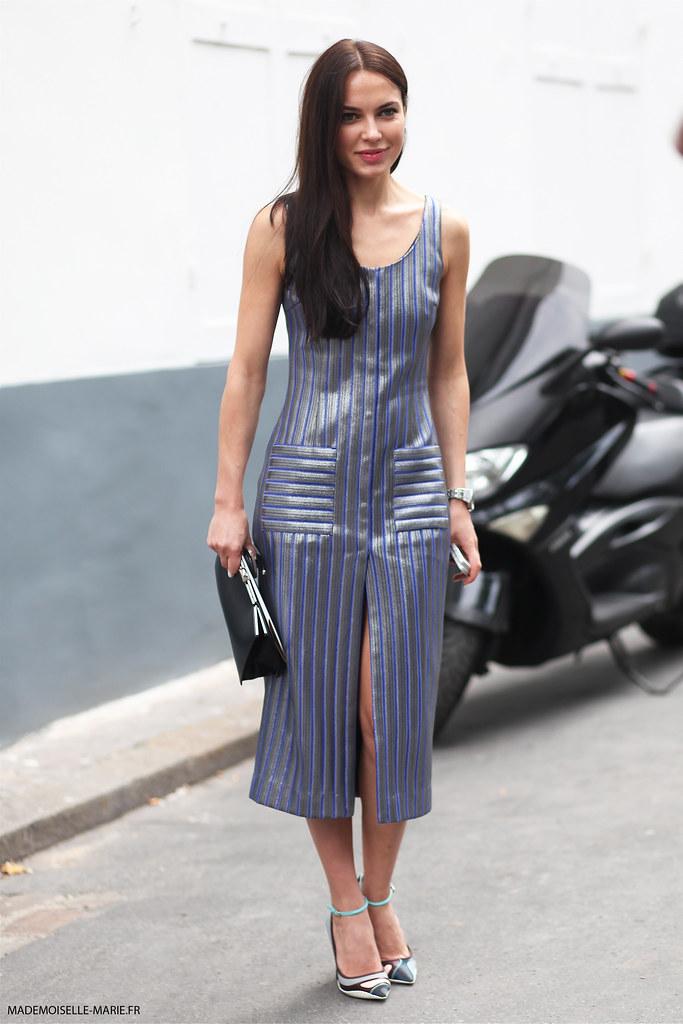Yasya Minochkina at Paris Fashion Week Haute Couture