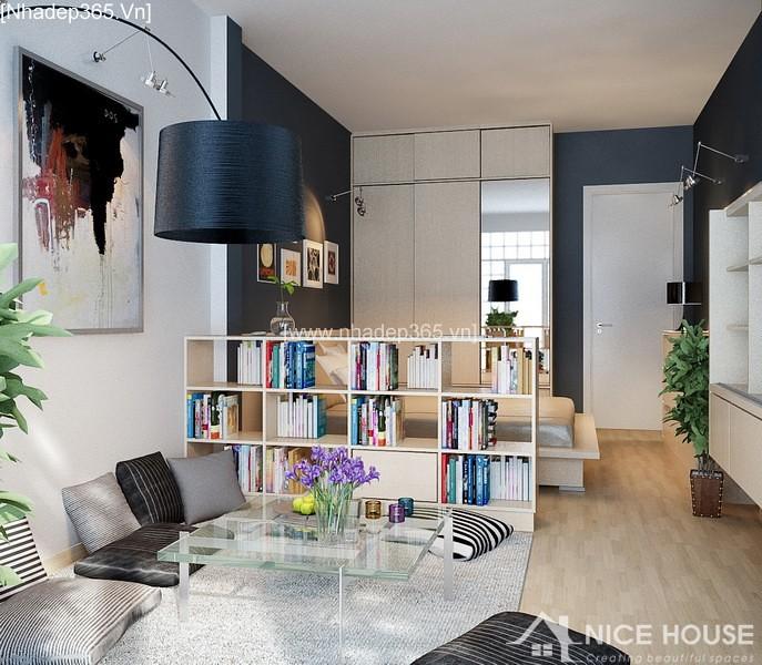 Thiết kế nội thất căn hộ A Đức - Hà Đông_2