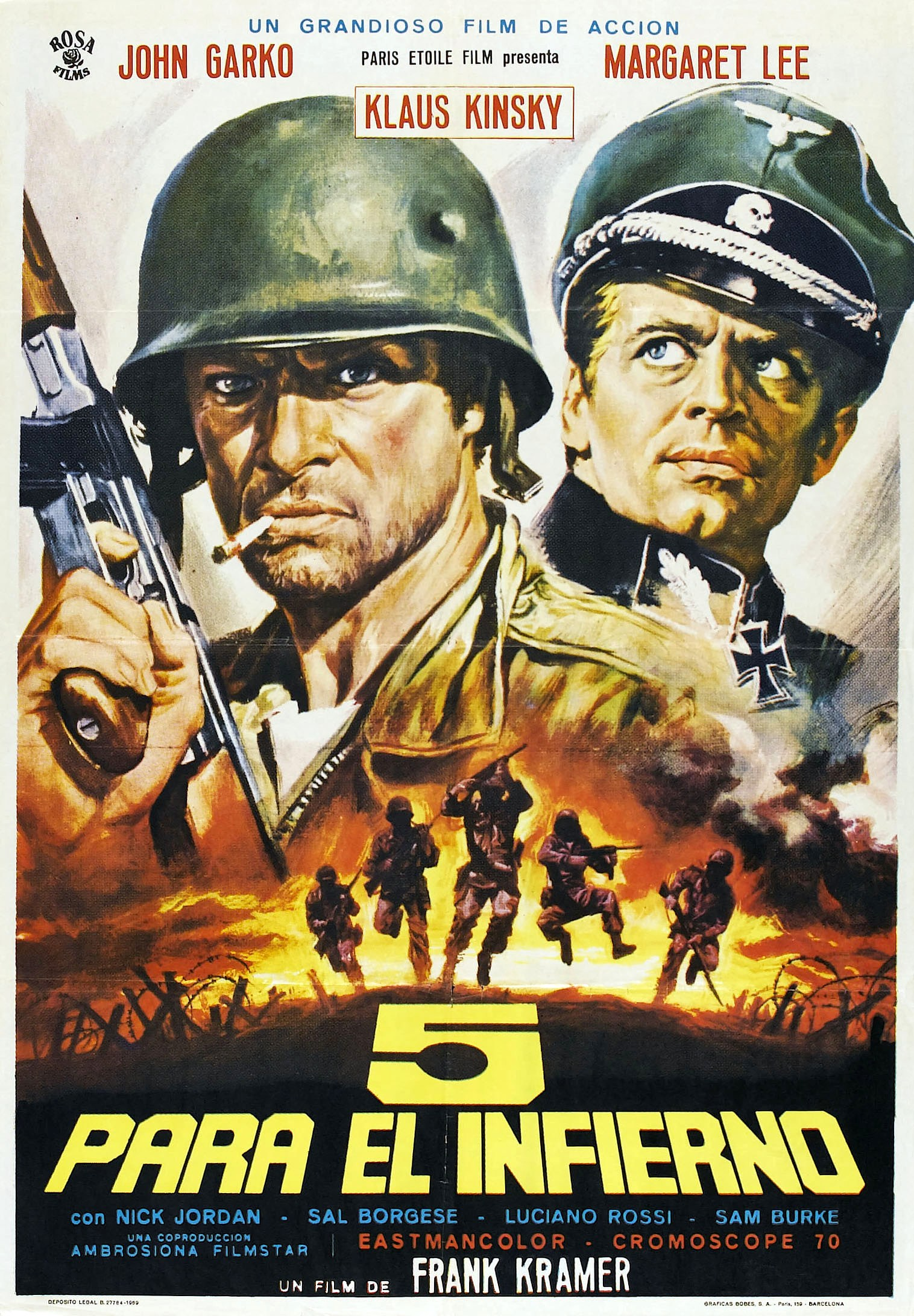 Five for Hell (1969)