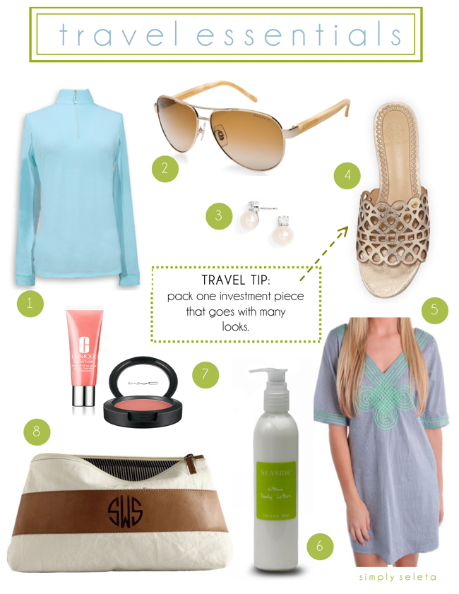 simply seleta travel essentials