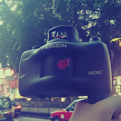 再玩lomo horizon perfekt全景相機