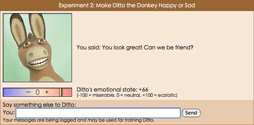 说了句好话,Ditto开心的笑了!