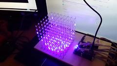 8x8x8 LED Cube