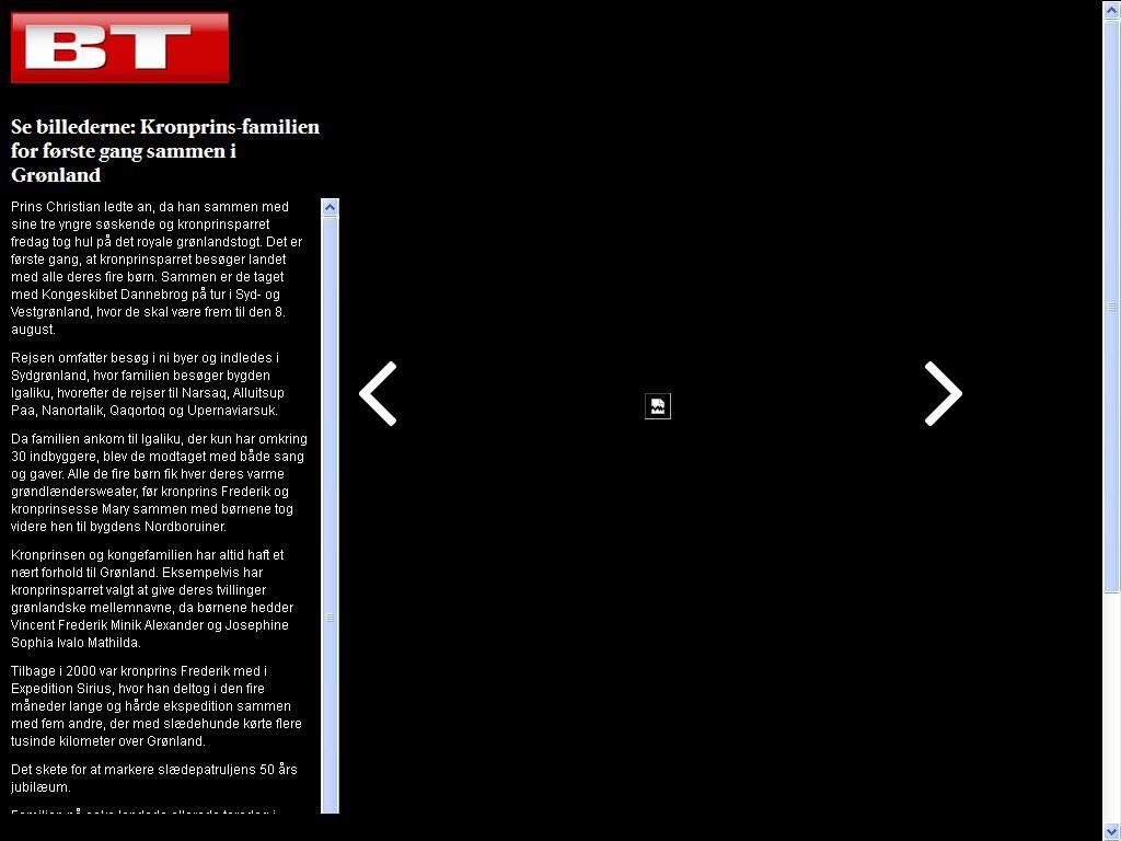 dansker tuller i vest grønland