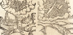 """Image from page 577 of """"Prodigiorvm ac ostentorvm chronicon : quae praeter naturae ordinem, motum, et operationem, et in svperioribus & his inferioribus mundi regionibus, ab exordio mundi usque ad haec nostra tempora, acciderunt ..."""" (1557)"""