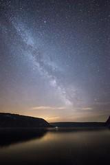 Milky Way Over Devil's Lake, WI