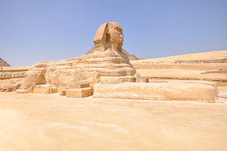 Image of Great Sphinx of Giza.