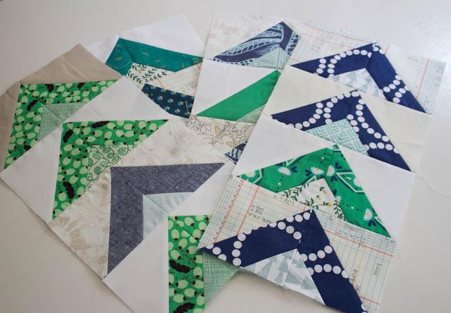 August Grace Circle do Good Stitches - Tent Blocks