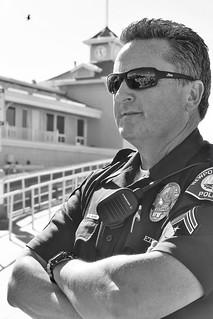 California police officer.