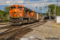 BNSF 9229 | EMD SD70ACe | BNSF Thayer South Subdivision