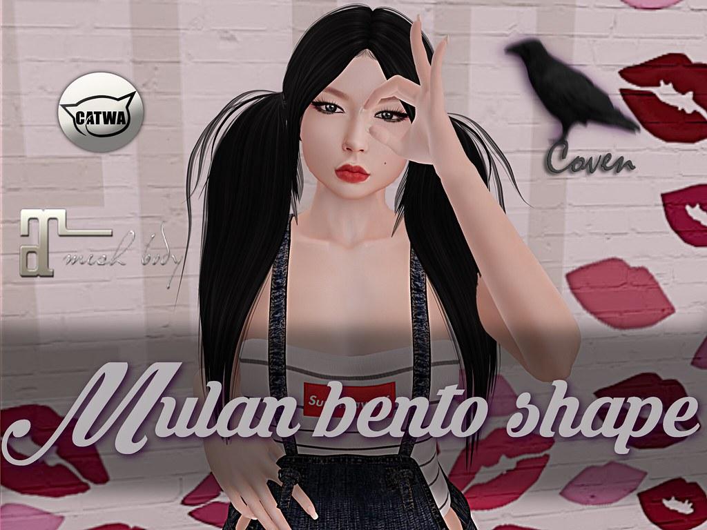 Mulan shape - SecondLifeHub.com