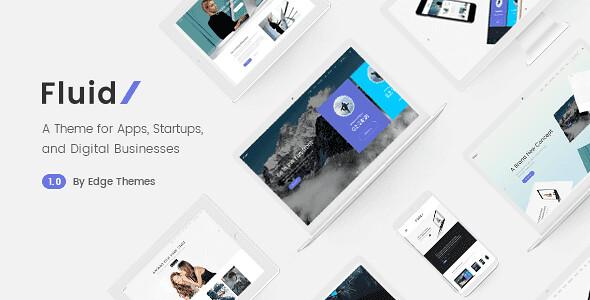 Fluid WordPress Theme free download