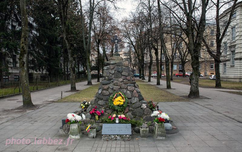 Monument en mémoire des victimes de l'occupation soviétique en Lituanie