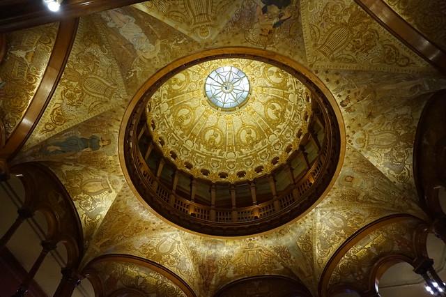 Roof inside Ponce De Leon Hall, Flagler College, St. Augustine