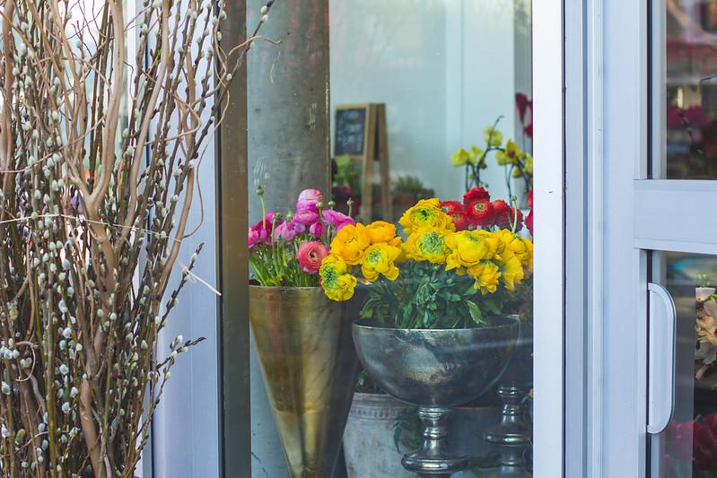 Granville Island Florist GIF. Helena McMurdo Photography