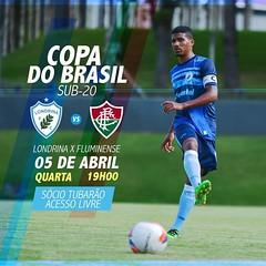 05-04-2017: Londrina x Fluminense | Copa do Brasil Sub-20