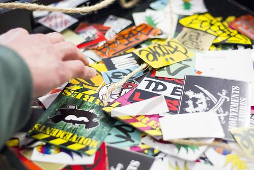 Vernissage du Festival International de Stickers à Toulouse