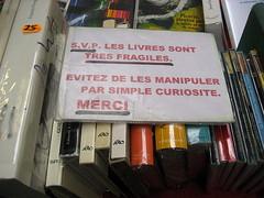 Marché aux livres Georges Brassens
