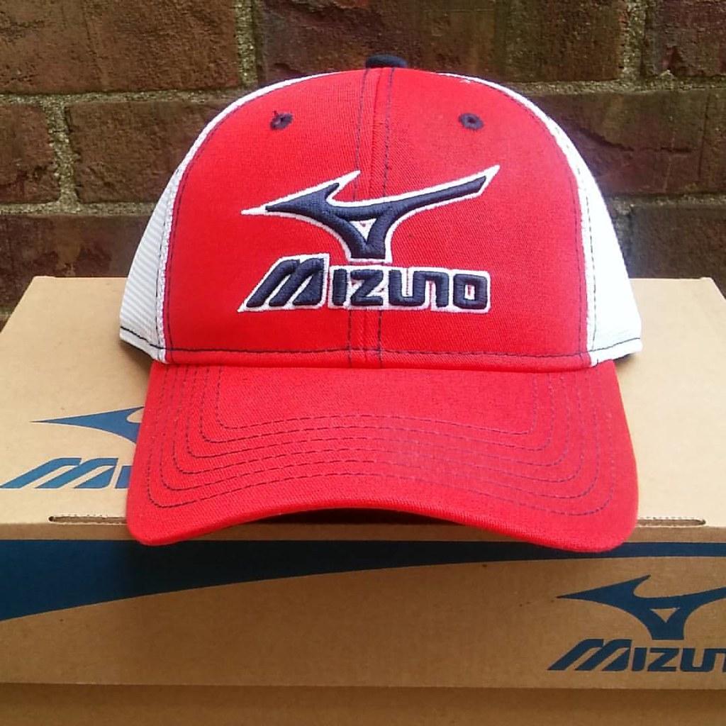 6168ca56 Click Link in profile to #Mizuno #Logo #Mesh #Trucker #Hat. Click Link in  profile to