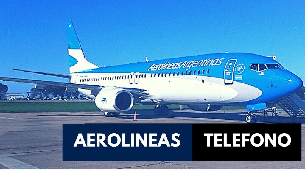 telefono aereolineas argentinas