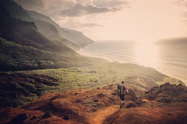 Kalalau Valley. Kauai.