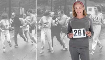 Kathrine Switzerová se vrací na Bostonský maraton