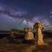 "Mushroom Hoodoos in Escalante by IronRodArt - Royce Bair (""Star Shooter"")"